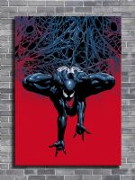 SPIDER MAN - SINISTER SPIDY WEB canvas print - self adhesive poster - photo print